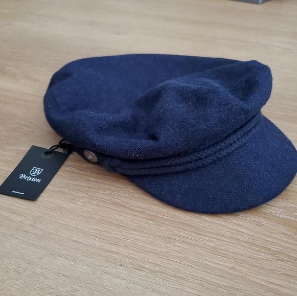 Brixton Fiddler Cap Navy M